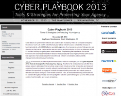 Cyber Playbook 2013