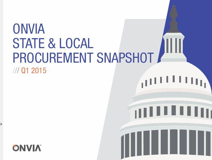 Onvia Q1 2015 snapshot