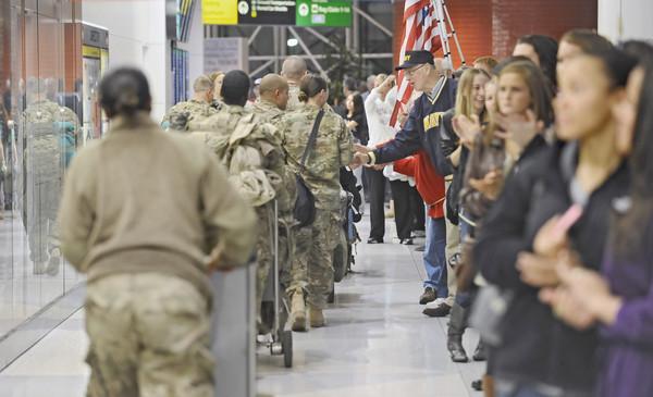 Returning Troops