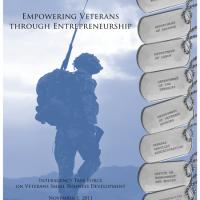 SBA Progress Report on President's Interagency Task Force on Veterans Small Business Development